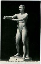 1950/60 Roma - Museo Vaticano, scultura antica Atleta Apoxyomenos - FP B/N