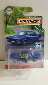MATCHBOX-2019-MOVING-PARTS-MBX-ROAD-TRIP-039-64-PONTIAC-GRAND-PRIX-BLUE-VHTF