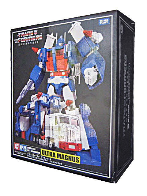 Takara Transformers Masterpiece MP-22 Ultra MAGNUS G1 With trailer  UK