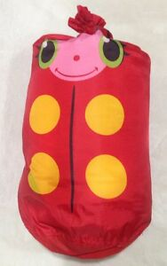 Details About Melissa Doug Mollie Ladybug Child S Sleeping Bag Sunny Patch W Carrying