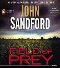 Prey: Field of Prey #24 by John Sandford (2014, CD, Unabridged - Nice!
