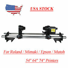 54 64 Auto Media Take Up Reel System For Roland Vs 540 Sp 540 Re 640 Xr 640