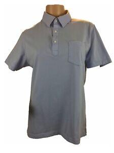 Uni-QLo-Mens-Polo-Shirt-Collar-Pocket-Cotton-Short-Sleeve-Super-Slim-Fit-M
