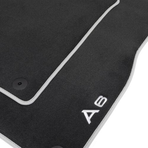 4G1061270 Velours Stoffmatten vorn hinten Audi A6 Textilfußmatten Premium 4 tlg