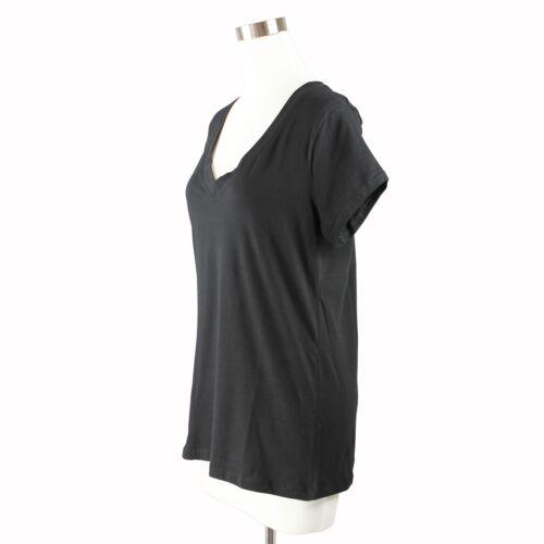 Women Plus Basic V Neck T-Shirt Short Sleeve Plain Modal Cotton 1X 2X 3X Plus