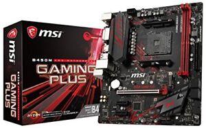 MSI-B450M-GAMING-PLUS-Desktop-Motherboard-AMD-Chipset-Socket-AM4