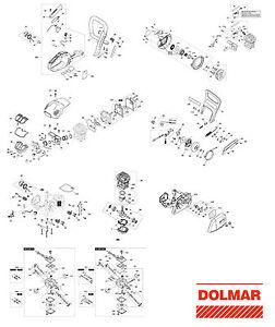 Kolbenring Original Dolmar Ersatzteil für Hobbysäge PS 36
