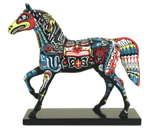 Trail of Painted Ponies SPIRITS OF THE NORTHWEST FIGURINE New in Box 1st Edition