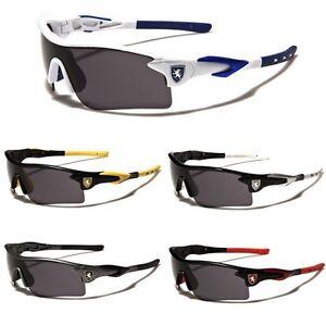 Half-Frame-Khan-Wrap-Around-Sport-Cycling-Baseball-Ski-Snow-Board-Men-Sunglasses