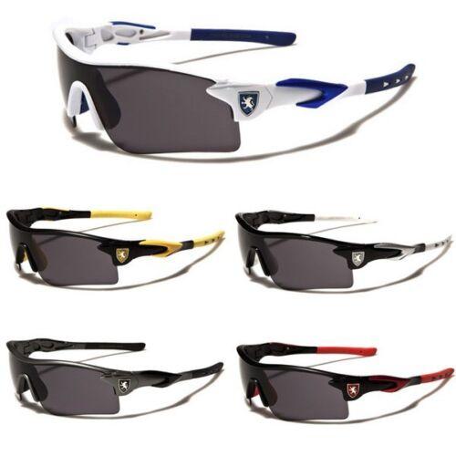 Half Frame Khan Wrap Around Sport Cycling Baseball Ski Snow Board Men Sunglasses