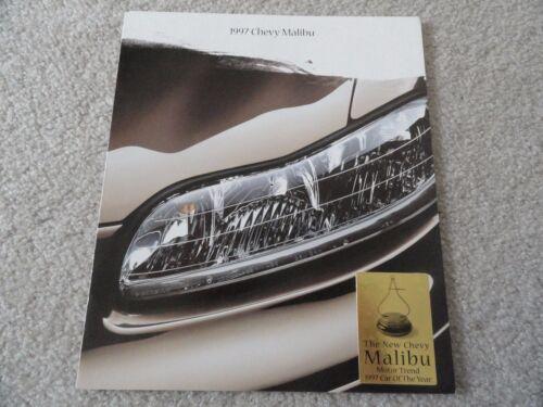 1997 Chevy Malibu Sales Brochure