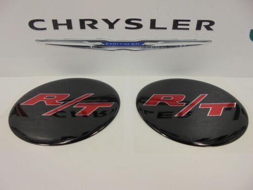 Challenger Charger Under Hood Beverage Delete Emblem Decal Black /& Red R//T