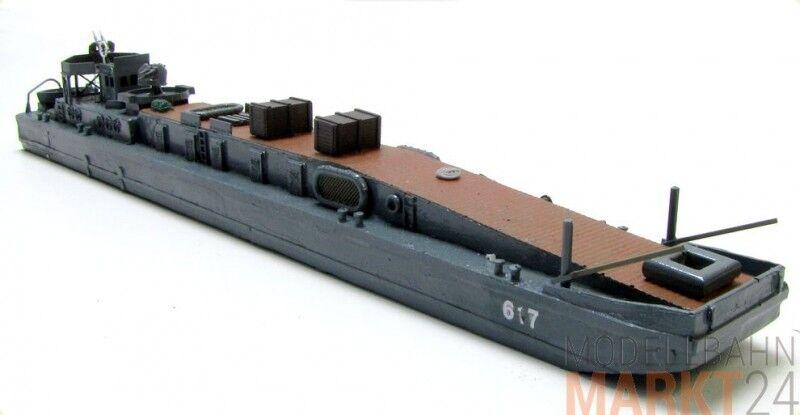 Militaire Allemande Marine fährprahm 617 remorqueur ww2 à l'échelle N 1 160
