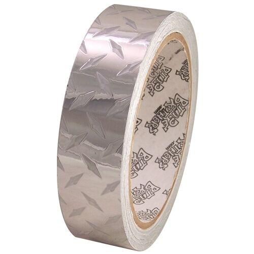 Tape Planet Diamond Plate Mini 1 inch x 10  yards Metalized PVC Tape