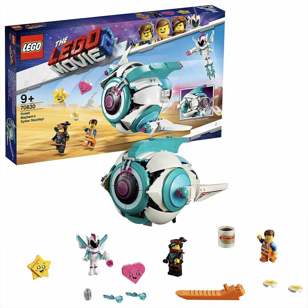 Lego movie 2 set 70830  astronave generale sconquasso