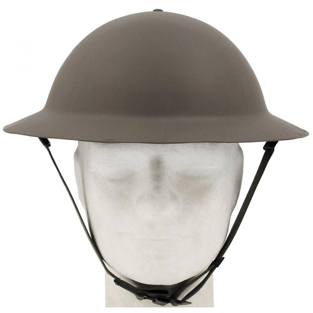MFH Brit. Tellerhelm Tommy WW II oliv Helm Stahlhelm Brodie Helm Army Armee BW