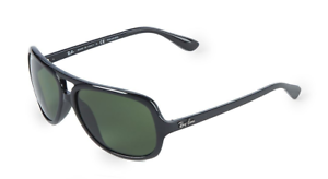 b9234e46d1 Authentic RAY-BAN 4162 - 601 2P Sunglasses Black   Green Polarized ...