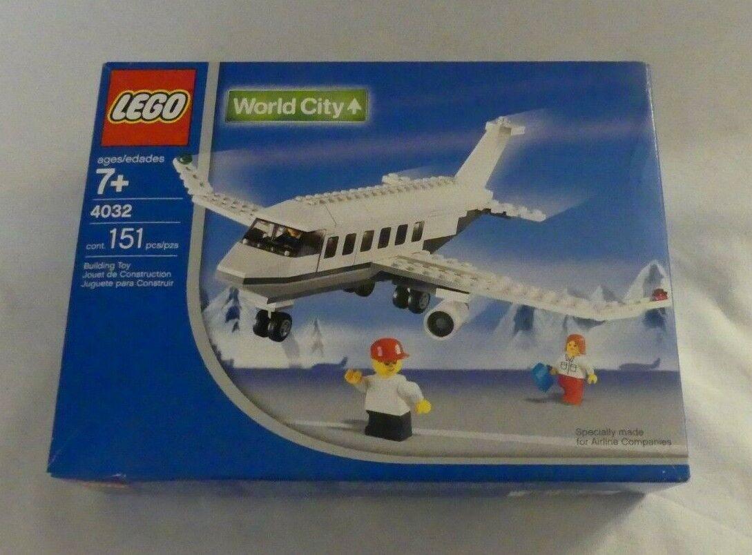 Lego ® World City 4032 Passenger Plane SAS Scandinavian  Airlines OVP  être en grande demande