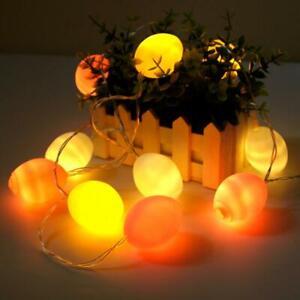 Easter Egg Lights Garland Shaped