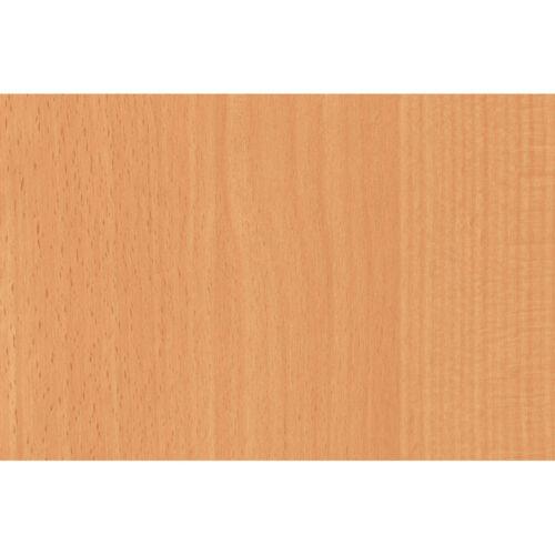 2m X 45cm MAKEOVER BEECH WOODGRAIN WOOD SELF ADHESIVE VINYL STICKY BACK PLASTIC