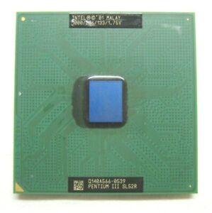 Processore-CPU-Intel-Pentium-III-SL52R-1-00GHz-32-bit-133MHz-bus-socket-370