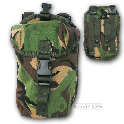MILITARY  BRITISH ARMY PLCE TYPE DPM CAMO UTILITY POUCH WEBBING CADET