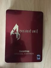 Resident Evil 4: Premium Edition Tin GameStop Exclusive (Nintendo GameCube, 200…