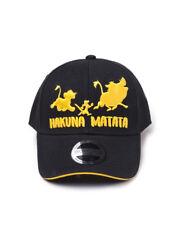 DISNEY The Lion King Simba Snapback Baseball Cap Unisex Black//Tan SB340813TLK
