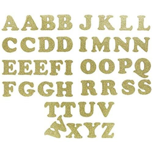 "1.25/"" Cooper-gold Metallic Dritz Iron-on Letters Soft Flex"