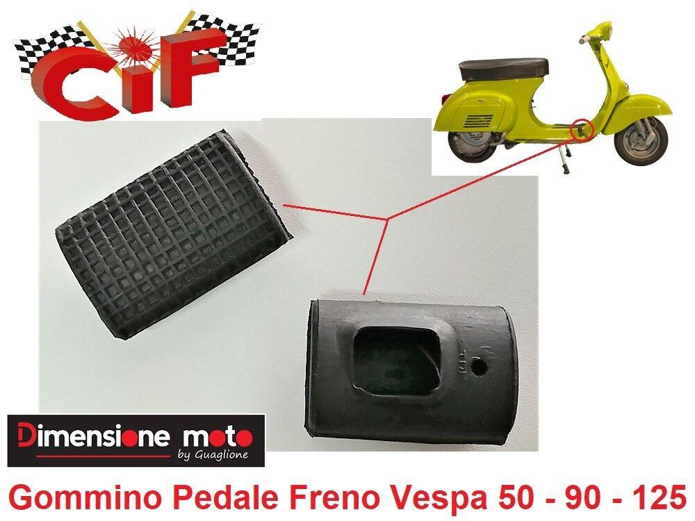 PE PX GOMMINO PROTEZIONE PEDALE FRENO VESPA 50-50 SPECIAL