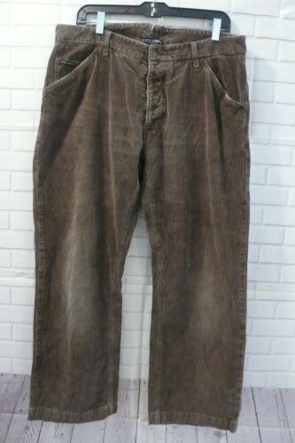 Dolce Gabbana Corduroy Tan Mens Pants Sz 52
