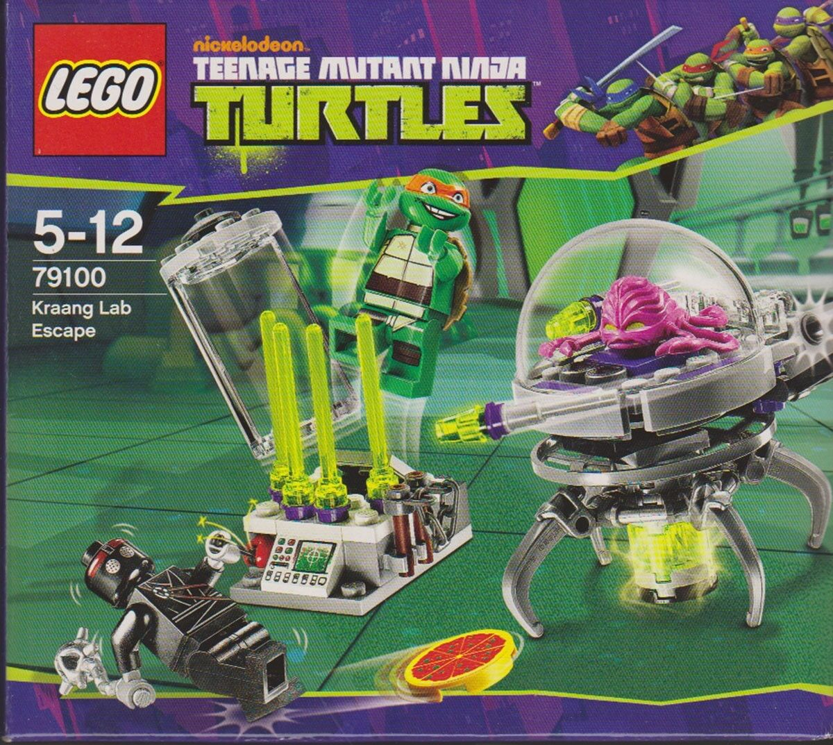 LEGO NINJA TURTLES KRAANG LAB ESCAPE 79100 **BRAND NEW DATED 2013 ** RETIrosso