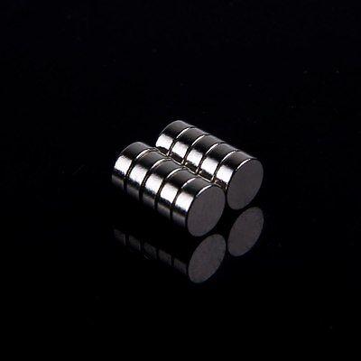 10Pcs Strong Craft Disc Round Neodymium Earth Neodymium Magnets 5x2mm Magnets