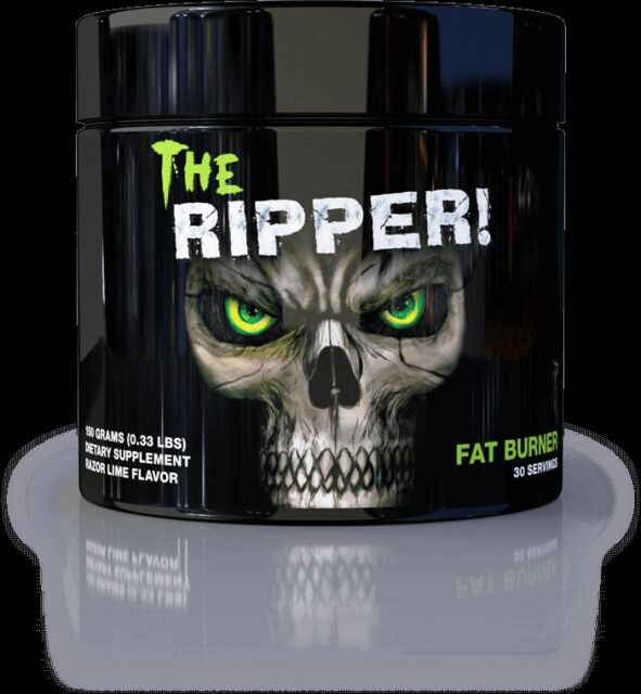 Cobra Labs The Ripper 30 Servings The Ultimate Fat Burner 5 Flavors FREE SHIP