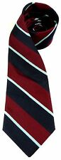 RAF ROYAL AIR FORCE WOVEN STRIPE  UK MADE MILITARY TIE