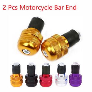 Grips-Balanced-Plug-Slider-Handle-Bar-End-Aluminum-Motorcycle-Handlebar-Plugs
