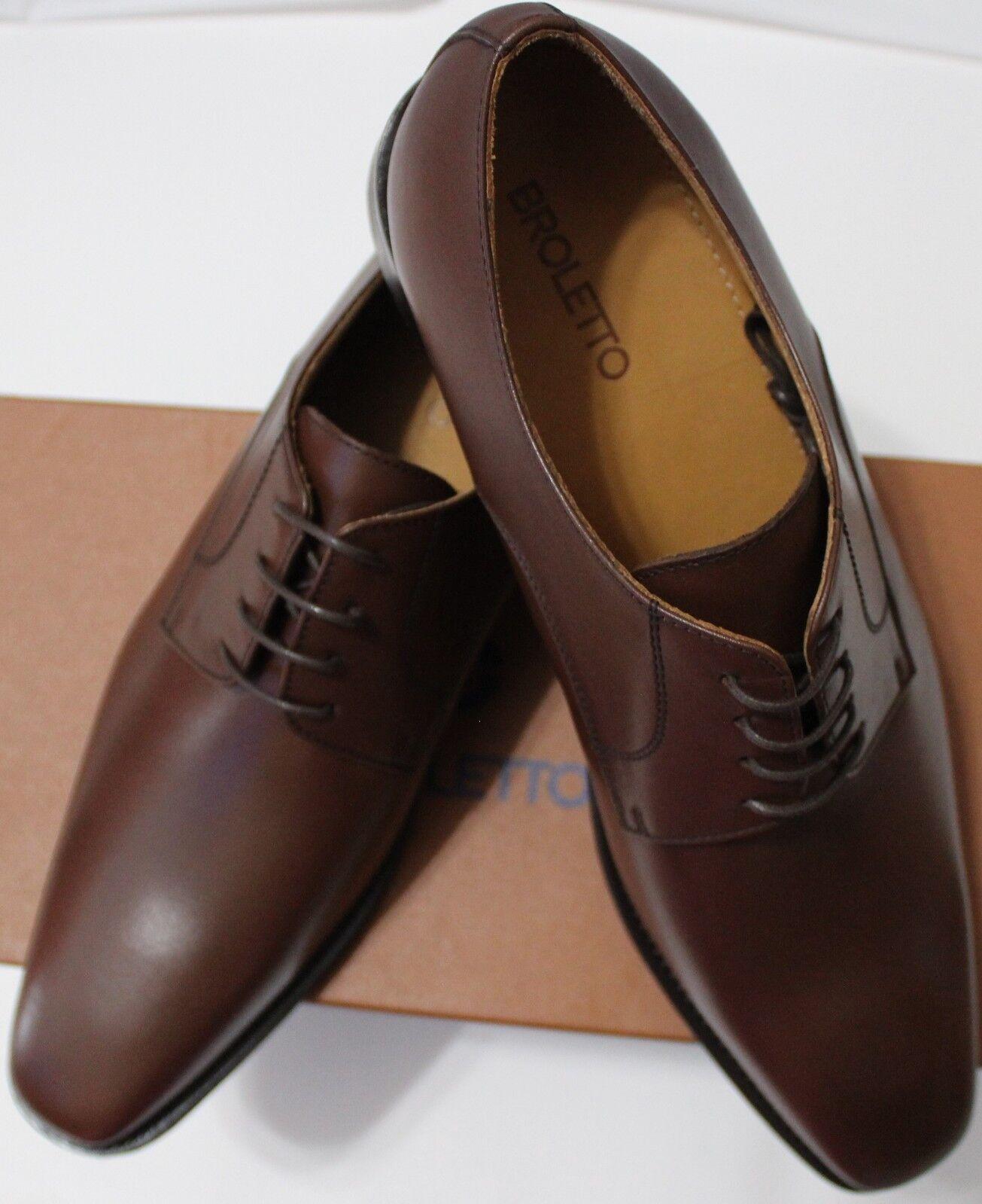 i nuovi marchi outlet online  140 BROLETTO BROLETTO BROLETTO MRDAVID Marrone LEATHER DERBY scarpe  negozio outlet