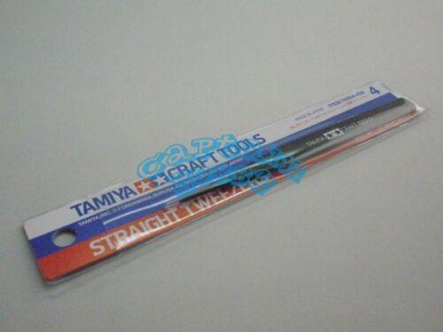 Craft Tools TAMIYA 74004 Straight Tweezers
