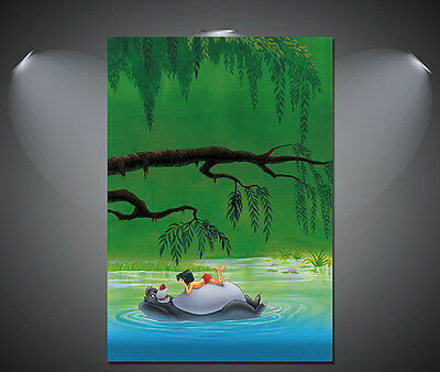 A3 A1 A4 sizes The Jungle Book Vintage Movie Poster 2 A2