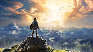 A1 - A2 BREATH OF THE WILD Poster THE LEGEND OF ZELDA