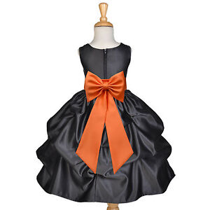 d46e11d000 Details about USA FREE SHIPPING HALLOWEEN PARTY HOLIDAY CHRISTMAS RECITAL  FLOWER GIRL DRESS