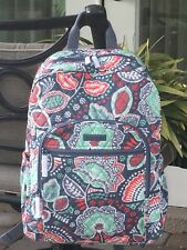 cd6baf02b8 Vera Bradley Campus Backpack Bookbag Nomadic Floral Cotton Quilted for sale  online