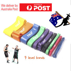 OZ-Heavy-Duty-Strength-RESISTANCE-POWER-BANDS-Home-Gym-Fitness-Workout-Yoga-Loop