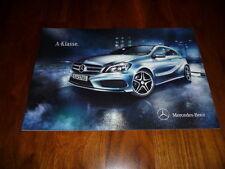 Mercedes Benz A-Klasse Prospekt 06/2012