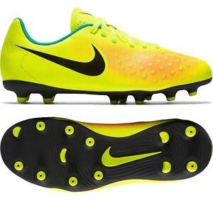e9d3cffe3 Kid s Nike Jr Magista Ola II FG Soccer Cleats - Volt Orange Jade ...