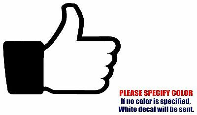 "Facebook Like SYMBOL JDM Funny Vinyl Decal Sticker Car Window Bumper Laptop 7/"""