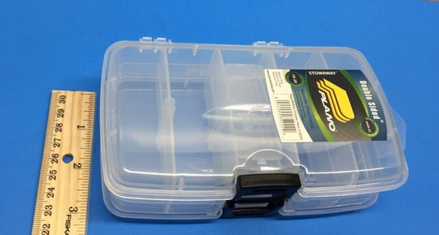 Tackel System Storage Fishing Kit Craft Sewing Compartment 2 Sided Carrier for sale online