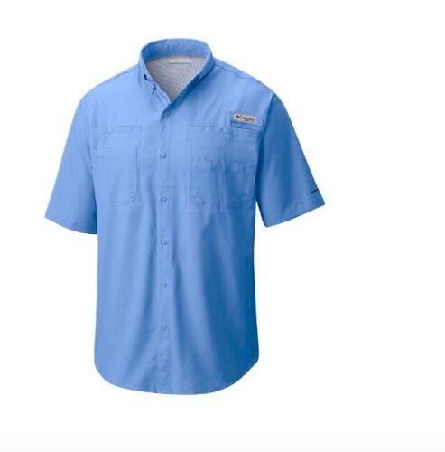 Columbia Men/'s PFG Tamiami II Short Sleeve Fishing Shirt Ripstop UPF 40 5X//5XL