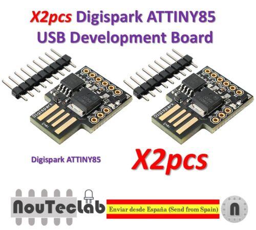 2pcs Digispark ATTINY85 General Micro USB Development Board For Arduino