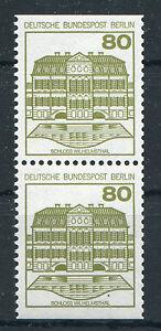 Berlin-674-C-D-postfrisch-Burgen-und-Schloesser-senkrechtes-Paar-BuS-MNH